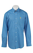 Cinch L/S Mens Fine Weave Shirt 1104188