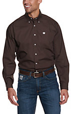 Cinch L/S Mens Fine Weave Shirt 1104236