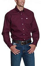 Cinch L/S Mens Fine Weave Shirt 1104239