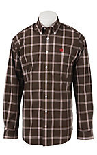 Cinch L/S Mens Fine Weave Shirt 1104275