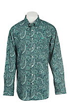 Cinch Men's Forest Paisley Print L/S Western Shirt