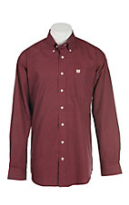 Cinch Men's Red Circle Print L/S Western Shirt