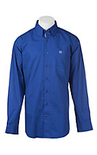 Cinch Men's Solid Royal L/S Western Shirt