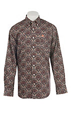 Cinch Men's Multi-Color Paisley Print L/S Western Shirt