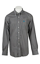 Cinch Men's Grey Print Western Shirt