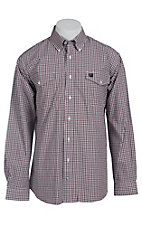 Cinch L/S Men's Fine Weave Shirt 1107011