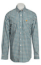 Cinch L/S Mens Fine Weave Shirt 1107025