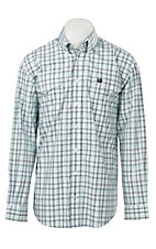 Cinch L/S Mens Fine Weave Shirt 1107028