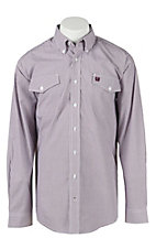 Cinch L/S Mens Fine Weave Shirt 1107032