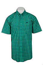 Cinch S/S Mens Fine Weave Shirt 1111127