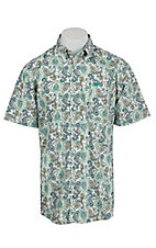 Cinch S/S Mens Fine Weave Shirt 1111129