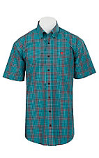 Cinch S/S Mens Fine Weave Shirt 1111130