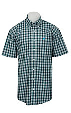 Cinch S/S Mens Fine Weave Shirt 1111131