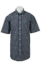 Cinch S/S Mens Fine Weave Shirt 1111136