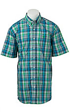 Cinch S/S Mens Fine Weave Shirt 1111137
