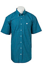 Cinch S/S Mens Fine Weave Shirt 1111138