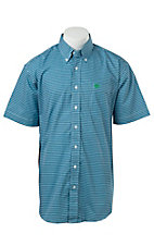 Cinch S/S Mens Fine Weave Shirt 1111140