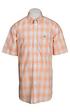 Cinch S/S Mens Fine Weave Shirt 1111143