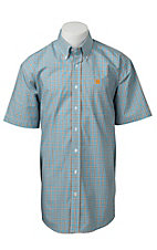 Cinch S/S Mens Fine Weave Shirt 1111144