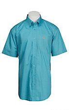 Cinch S/S Mens Fine Weave Shirt 1111146