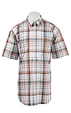 Cinch S/S Mens Fine Weave Shirt 1111153