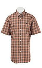 Cinch S/S Mens Fine Weave Shirt 1111154