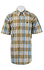 Cinch S/S Mens Fine Weave Shirt 1111158