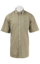 Cinch S/S Mens Fine Weave Shirt 1111160
