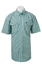 Cinch S/S Mens Fine Weave Shirt 1112004