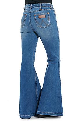 Wrangler Retro Women's High Rise Trumpet Flare Jeans