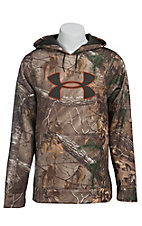 Under Armour Men's Realtree AP-XTRA Armour Fleece Camo Big Logo Hoodie