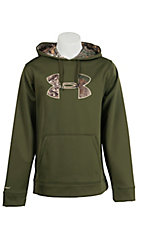 Under Armour Men's Greenhead with Camo UA Storm Armour Fleece Caliber Hoodie