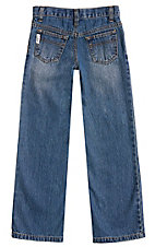 Cinch Boys' White Label Stonewash Slim Fit Jean--Sizes 4-7