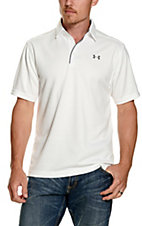 Under Armour Tech Men's White S/S Polo Shirt