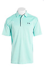 Under Armour Tech Men's Turquoise S/S Polo Shirt