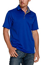 Under Armour Tech Men's Royal Blue S/S Polo Shirt
