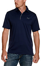 Under Armour Tech Men's Midnight Navy S/S Polo Shirt