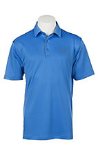 Under Armour Tech Men's Mediterranean Blue S/S Polo Shirt