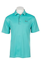 Under Armour Tech Men's Team Teal S/S Polo Shirt