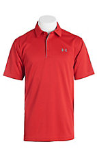 Under Armour Tech Men's Red S/S Polo Shirt