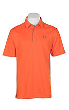 Under Armour Tech Men's Team Orange S/S Polo Shirt