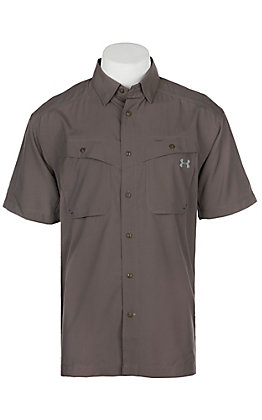 Under Armour Tide Chaser Men's Fresh Clay Short Sleeve Fishing Shirt