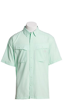 Under Armour Tide Chaser Men's Aqua Foam Short Sleeve Fishing Shirt