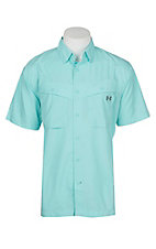 Under Armour Tide Chaser Men's Solid Tropical Tide Short Sleeve Fishing Shirt