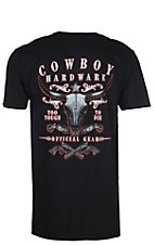 Cowboy Hardware Men's Black Too Tough To Die S/S T-Shirt