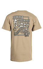 Cowboy Hardware Tan Rodeo Banner Short Sleeve Tee