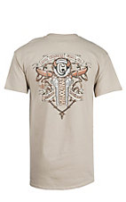 Cowboy Hardware Sand All Weather Gear Short Sleeve Tee