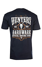 Hunters Hardware Navy Official Hunt Gear S/S T-Shirt
