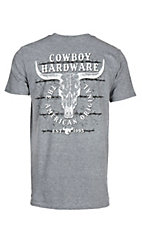 Cowboy Hardware Men's Graphite American Original S/S T-Shirt