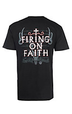 Cowboy Hardware Black Firing on Faith Short Sleeve Tee